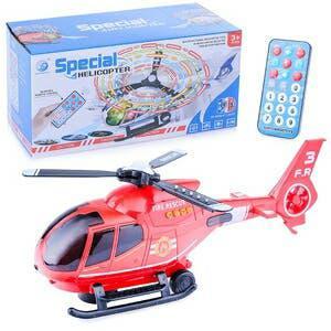 Helicóptero radiocontrol movimiento luces/sonidos