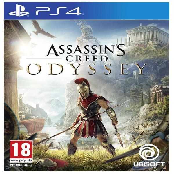 Juego ps4 assassins creed odyssey