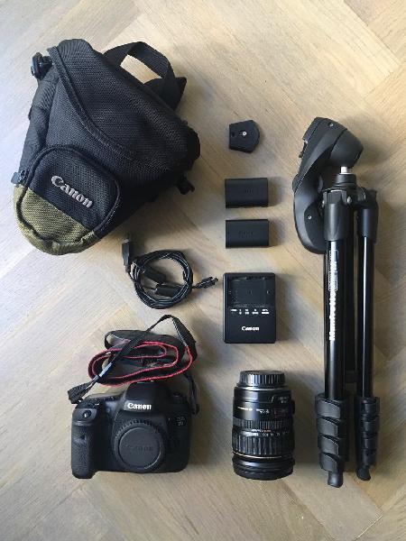 Kit profesional de fotografía canon eos 7d