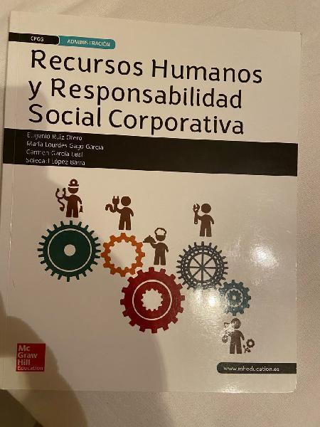 Libro recursos humanos y responsabilidad social
