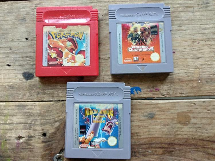 Lote 3 juegos game boy
