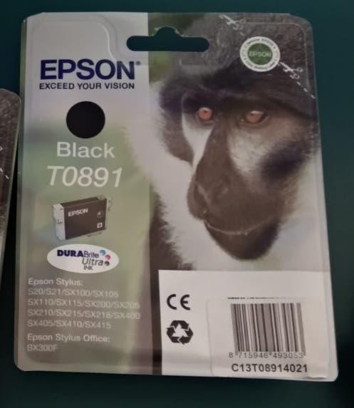 Nuevo - cartucho tinta negro