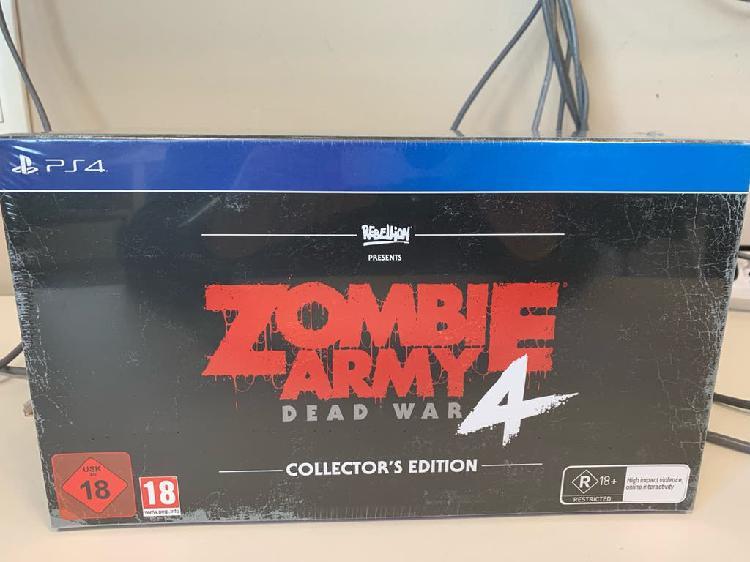 Precintada zombie army 4 edición coleccionista ps4