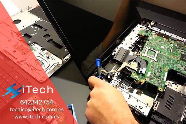 Reparación ordenadores laptops moviles a domicilio
