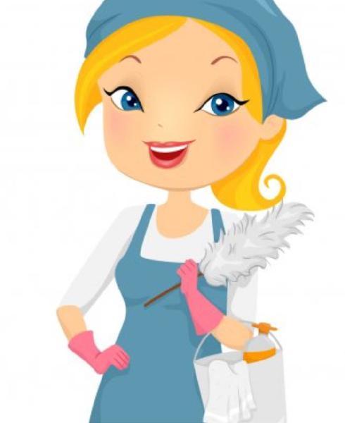 Señora para limpieza