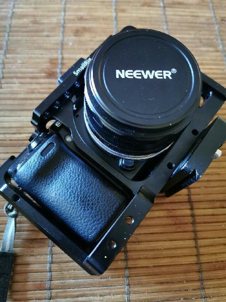 Sony nex 7, 3 baterías, smallrig, caja, protector