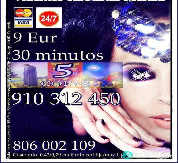 Tarot visa 9eur 35min. 910312450 / 806002109