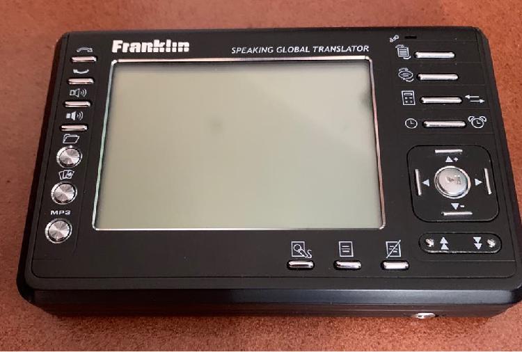 Traductora franklin tga-495