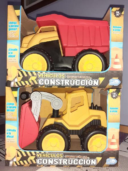 Vehículos de construcción nuevos