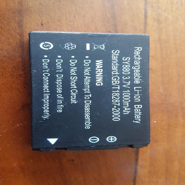 Batería recargable cámara. 3.7v