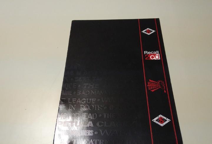 0220- catalogo recall 2 cd original master 10 paginas n2