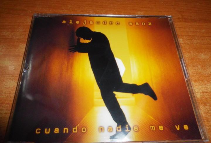 Alejandro sanz cuando nadie me ve cd single plastico del