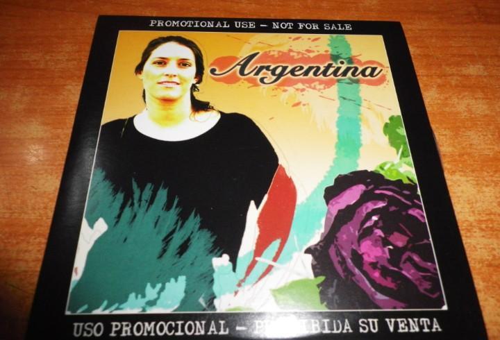 Argentina cd album promo carton del año 2006 discos al
