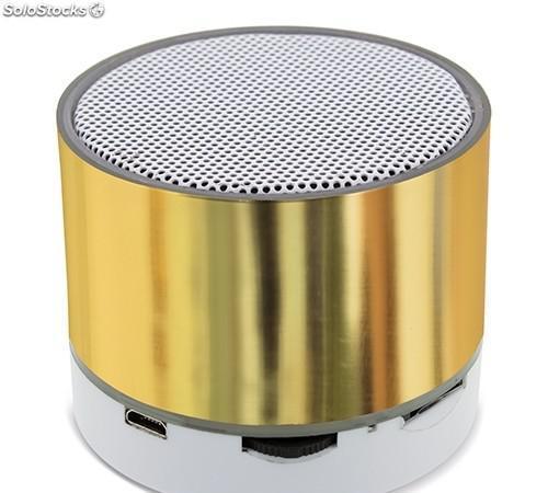Altavoz bluetooth de aluminio
