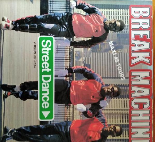 Break machine -street dance / instrumental - maxisingle