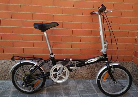 Bicicleta plegable ligera