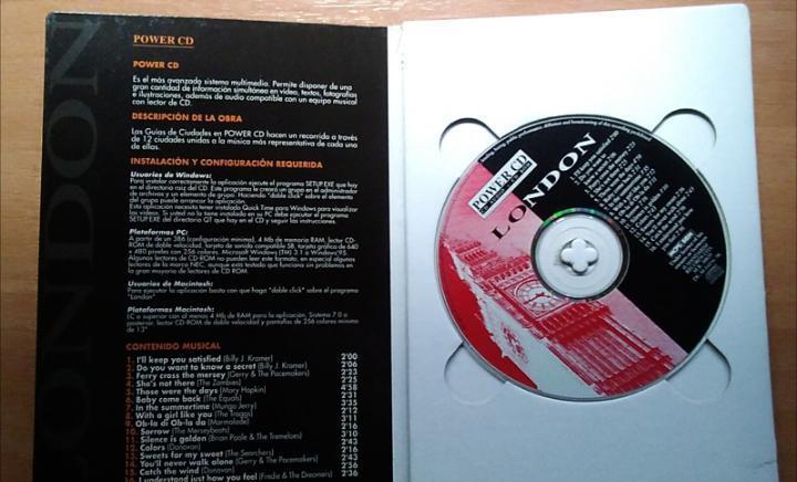 Cd guía de londres cd rom y y cd audio musical