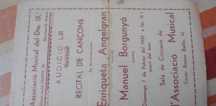 Concierto.san andres.barcelona 1937.enriqueta