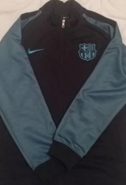 Chaqueta fútbol club barcelona /talla l