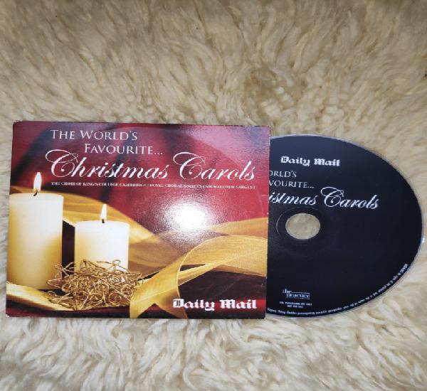 Christmas cards - cd album - daily mail