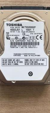 Disco duro 750 gb 2.5 toshiba nuevos