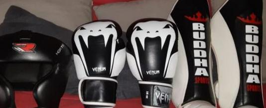 Equipacion kick boxing