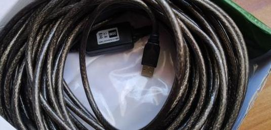 Extensión usb 20m cable con repetidor