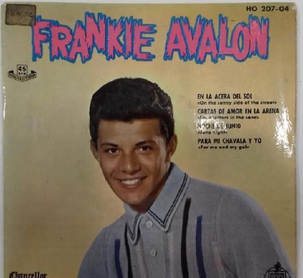 Frankie avalon - en la acera del sol / cartas de amor en la