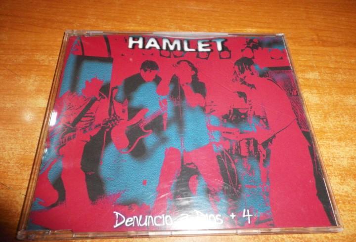 Hamlet denuncio a dios cd single del año 2000 contiene 5