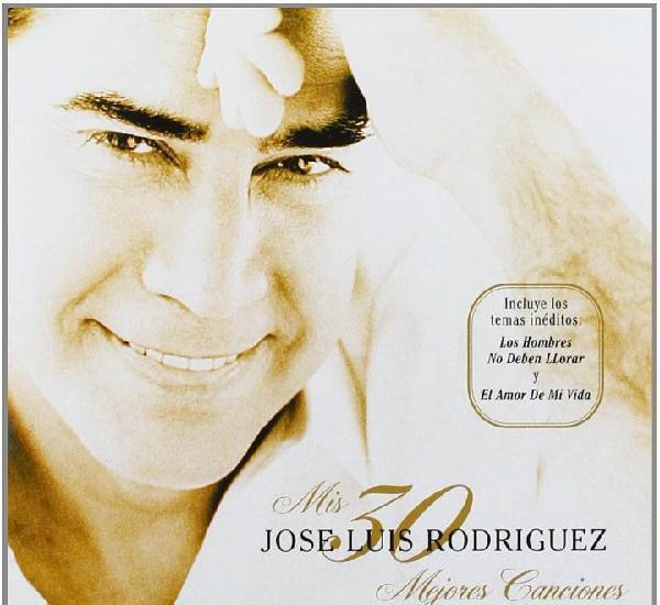 Jose luis rodriguez el puma mis 30 mejores canciones 2 cd