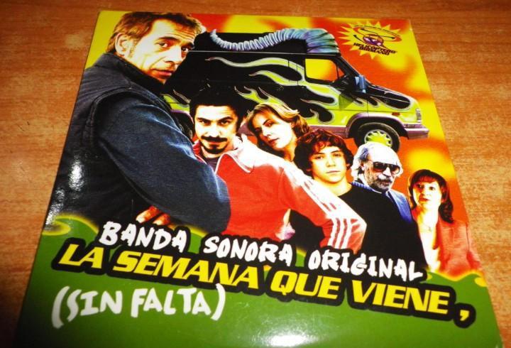 La semana que viene banda sonora cd album promo carton 2006