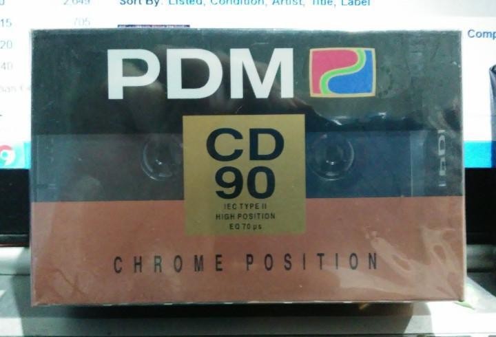 Lote de 3 cintas de casete vírgenes precintadas - 2 pdm