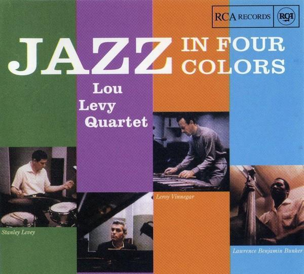 Lou levy - jazz in four colors - cd