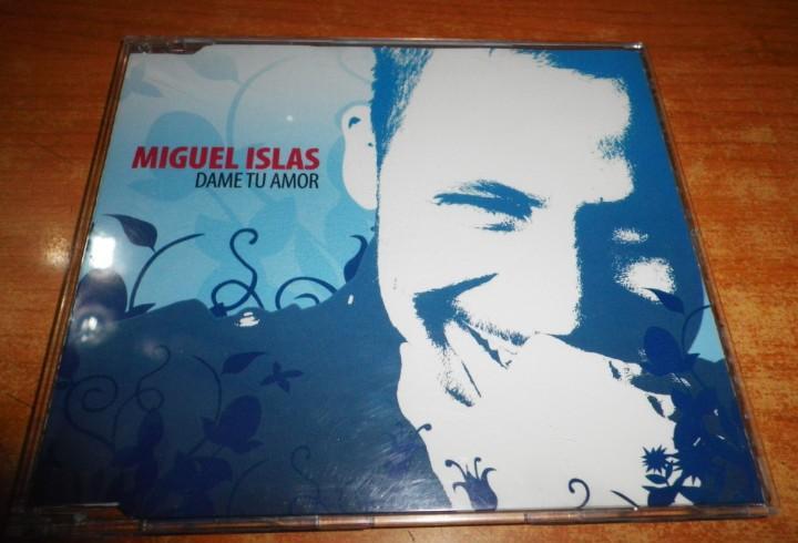 Miguel islas dame tu amor cd single promo del año 2006