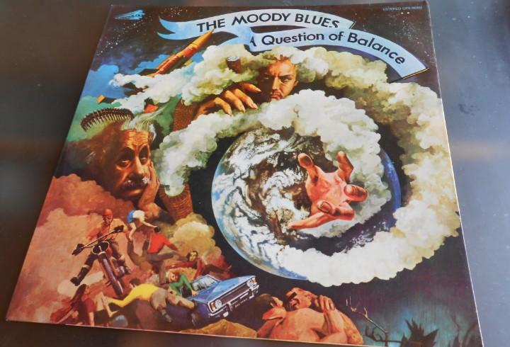 Moody blues, the - a question of balance -, lp, question +