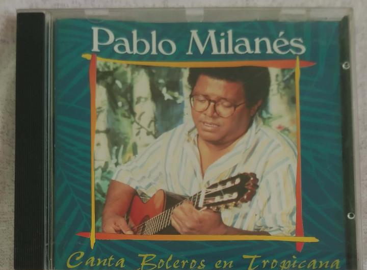 Pablo milanes (canta boleros en tropicana) cd 1994