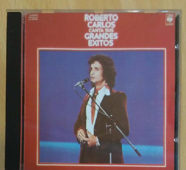 Roberto carlos canta sus grandes exitos - cd 1987