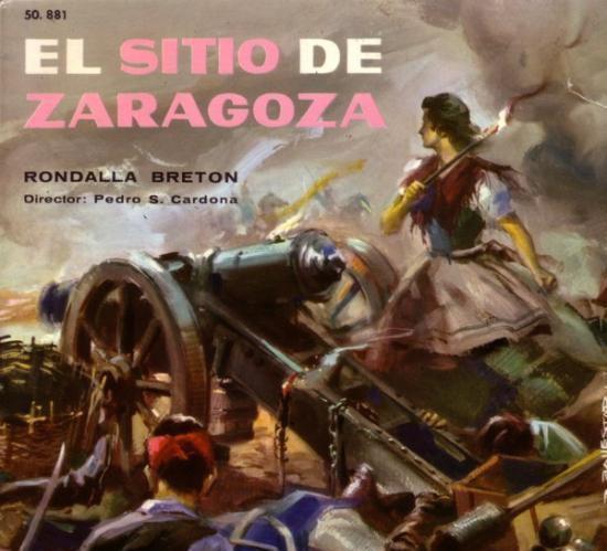 Rondalla breton,el sitio de zaragoza - single belter 1961
