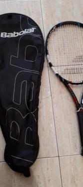 Raqueta de tenis .