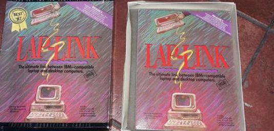 Software lap-link para ibm - 1987