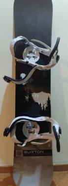 Tabla snow burton cruzer (wide) y mas