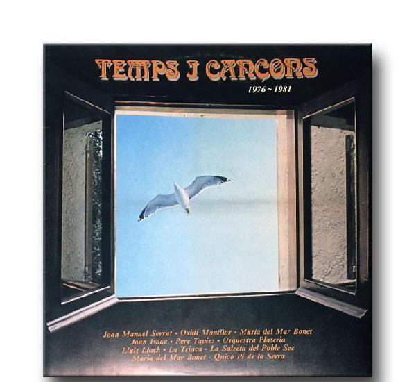 V/a - temps i cançons. 1976-1981