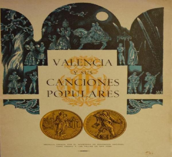 Valencia y sus canciones populares - varios autores