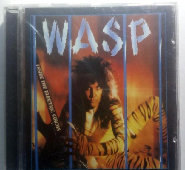 W.a.s.p. - inside the electric circus - cd - original