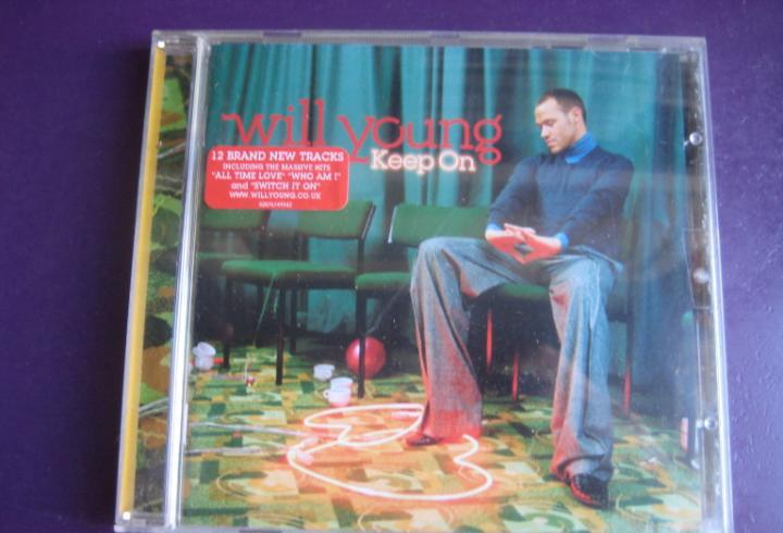 Will young cd sony 2005 - keep on - nuevo soul - ligeras