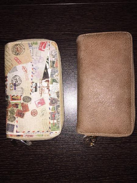 2 carteras usadas