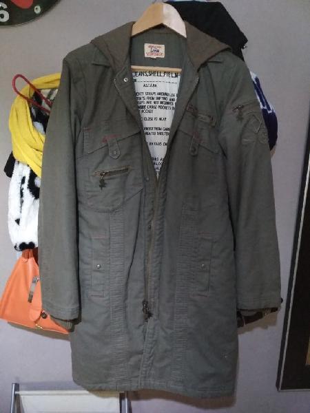 Abrigo verde caki