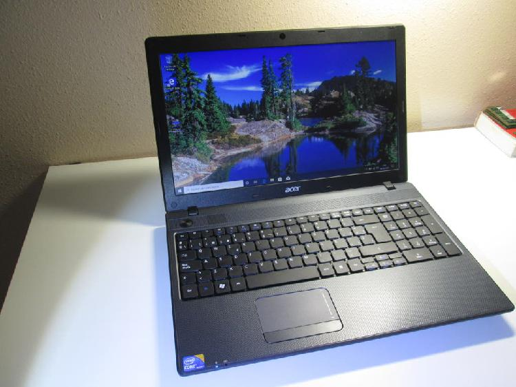 "Acer travelmate 5744 15.6"" intel i3"
