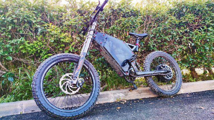 Bicicleta electrica / moto de cross - stealth b52