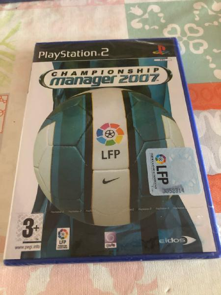 Championship manager 2007 playstation 2 new